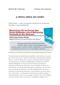 ESTÁCIO BH / Marketing Professor: Dario Alexandre A NOVA ONDA
