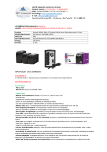 Nobreak SMS Net Station II 600VA Bivolt 27395