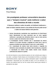 Press Release Um prestigiado professor universitário descobre que