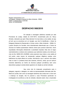despacho 568/2010