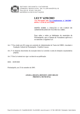 6250 - Governo do Estado de Santa Catarina
