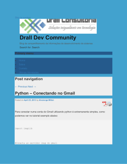 Python - Conectando no Gmail : Drall Dev Community : http