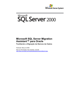 Microsoft SQL Server Migration Assistant for Oracle