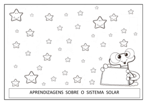 mini livro do sistema solar