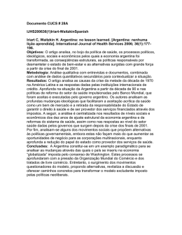 Documento CUCS # 28A