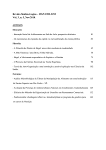 Revista Simbio-Logias – ISSN 1893-3253 Vol. 3, n. 5 - IBB