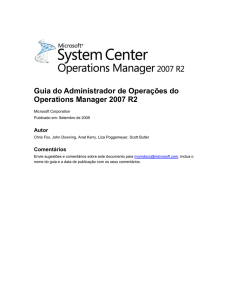 Guia do Administrador do Operations Manager