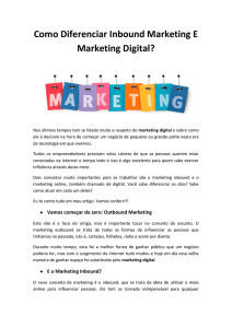 Como cuidar do Marketing Digital?