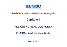 2.0 FLEXÃO NORMAL COMPOSTA