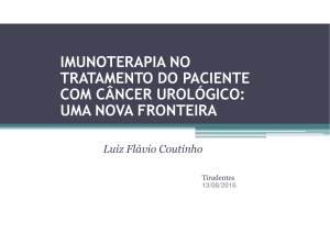 IMUNOTERAPIA NO TRATAMENTO DO PACIENTE COM CÂNCER