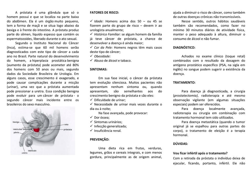próstata e renal