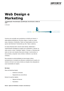 Web Design e Marketing