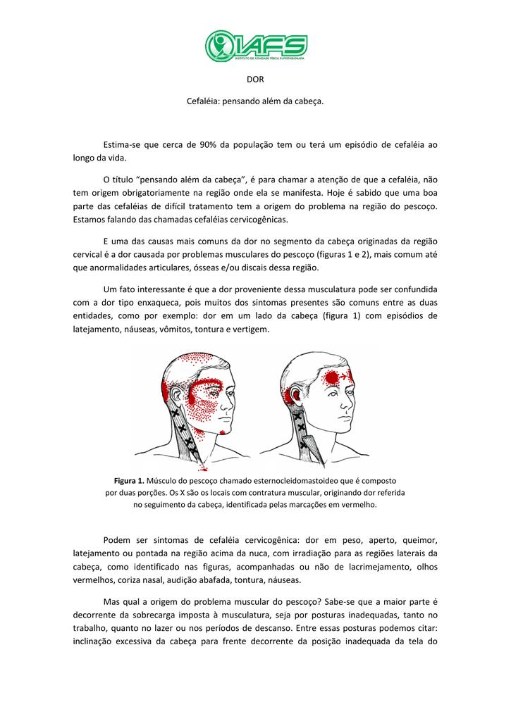 tontura dor de cabeça dor óssea