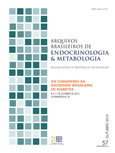 outubro 2013 - Archives of Endocrinology and Metabolism