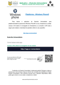 Plataforma - Windows Phone