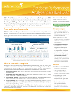 Database Performance Analyzer para IBM DB2