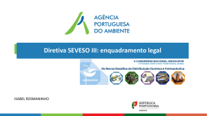 Diretiva SEVESO III: enquadramento legal