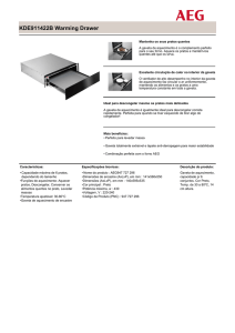 KDE911422B Warming Drawer