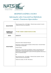 Deficiencia mental Concerta 2014
