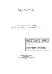 Descrição Língua Língua MatispanoUma Descrição Língua Língua Descrição MatispanoUma Gramatical Gramatical Gramatical MatispanoUma kOwPX08n