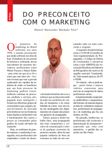 do preconceito com o marketing