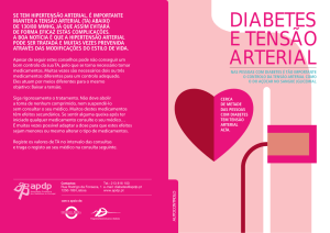 diabetes e tensão arterial