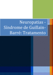 Neuropatias - Síndrome de Guillain-Barré: Tratamento
