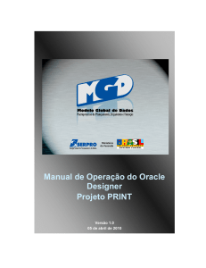 Manual de Operacao Oracle Designer