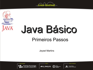 Slides sobre Java