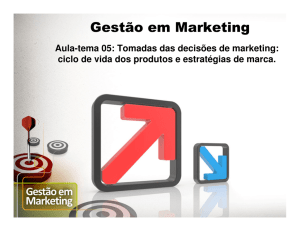 Tomadas das decisões de marketing