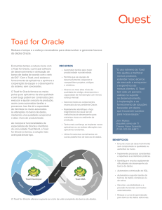 Toad for Oracle - Quest Software