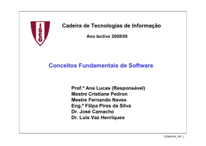 Conceitos Fundamentais de Software