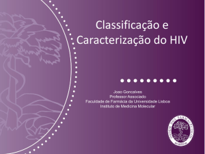 01ModI-JGonçalves-Classificacao HIV
