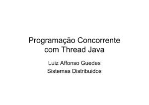 Programação Concorrente com Thread Java - DCA