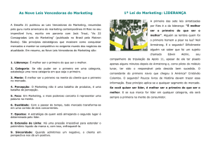 As 9 leis vencedoras do marketing
