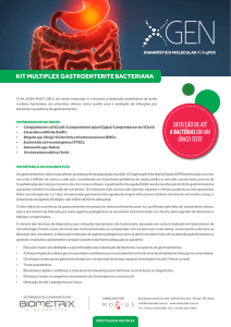 kit multiplex gastroenterite bacteriana - Biometrix