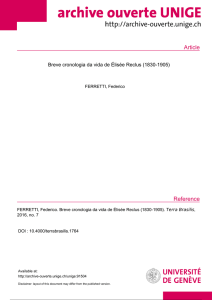 Article Reference - Archive ouverte UNIGE