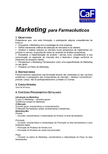 Marketing para Farmacêuticos
