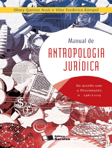 Manual de Antropologia Juridica - Olney Queiroz Assis e Vitor
