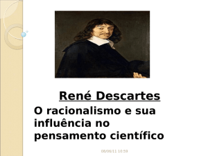 Rene descartes - Instituto de Física