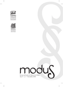 Revista Modus - Intranet UEMG