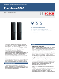 Photobeam 5000 - Bosch Security Systems