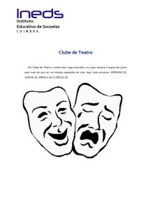 clube de Teatro - Instituto Educativo de Souselas