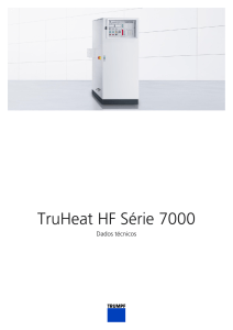 Technical data sheet TruHeat HF Série 7000