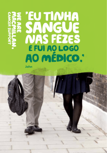 sangue - Macmillan Cancer Support