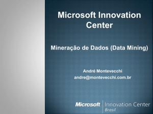 Data Mining - Microsoft Innovation Center BH