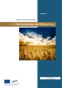 Capítulo 1. Planeamento de Marketing