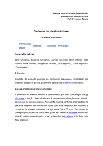 Sindrome do intestino irritavel