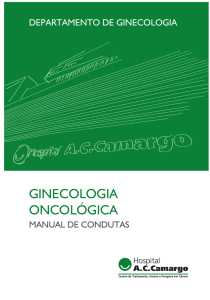 ginecologia oncológica - A.C.Camargo Cancer Center