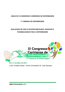 ISBN 978-85-65221-17-7 ANAIS DO II CONGRESSO CARIRIENSE